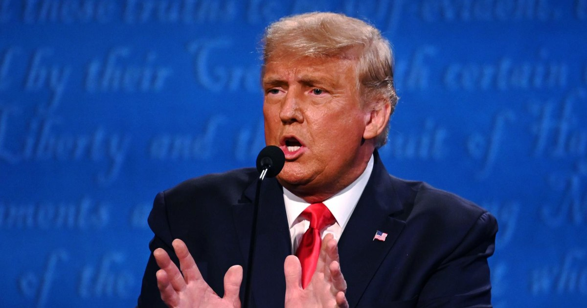 Trump closes debate with what he would say to those who did not vote for him