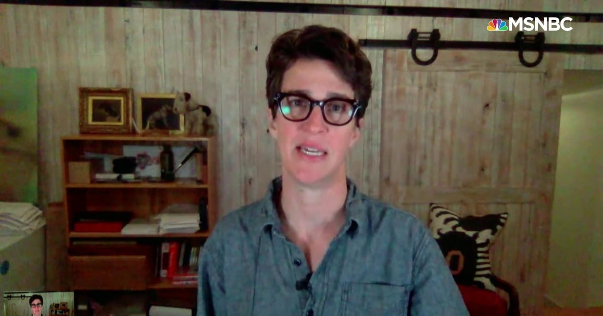 Maddow: Trump leaves U.S. vulnerable with decapitation of cybersecurity agency
