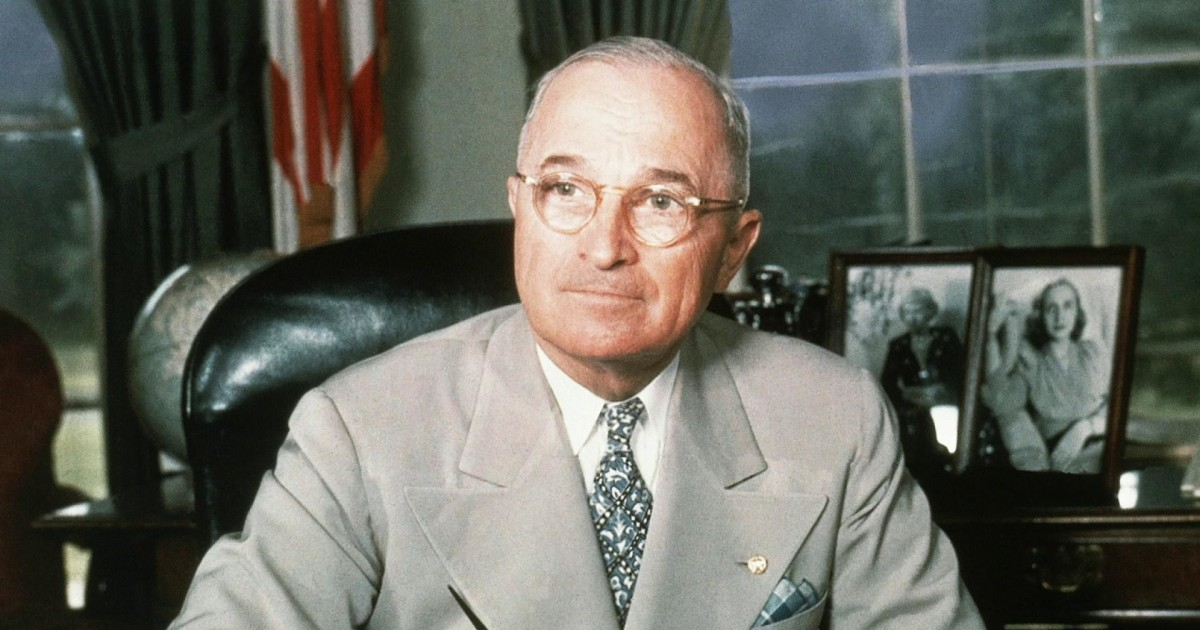 Truman, Joe Biden and U.S. foreign policy