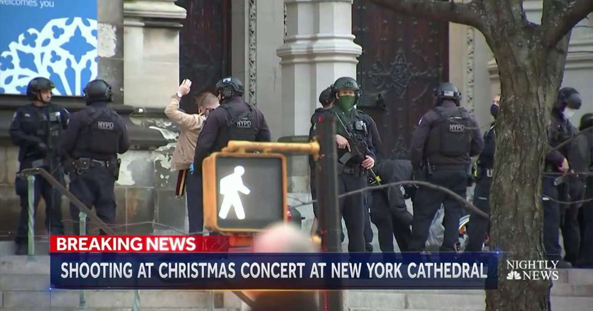 Shooting at NYC Upper West Side cathedral