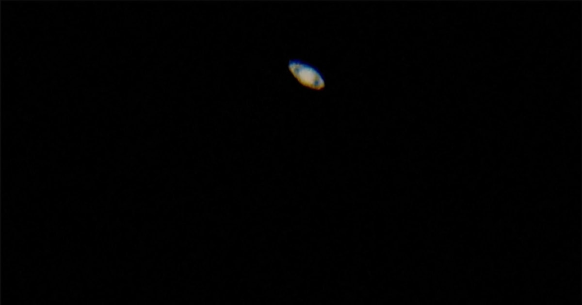 WATCH: Saturn and its rings visible in night sky