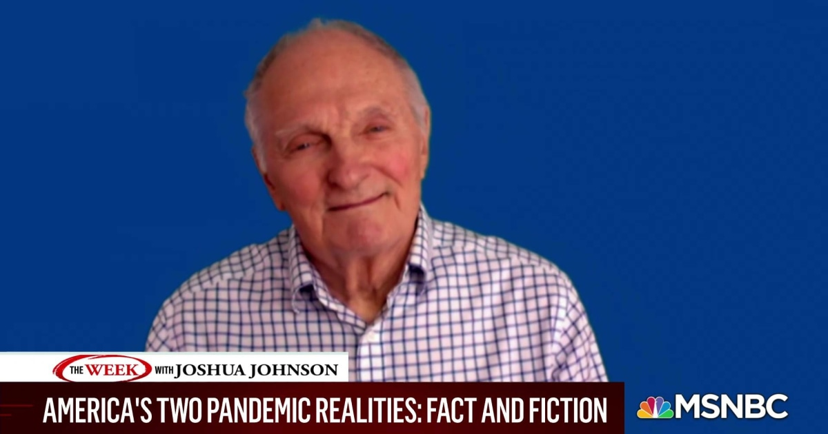 Actor Alan Alda on the importance of understanding science related to COVID-19
