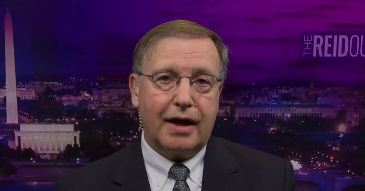 Chuck Rosenberg on Perdue: 'If he's trading on insider info, it's not just a problem. It's a crime'