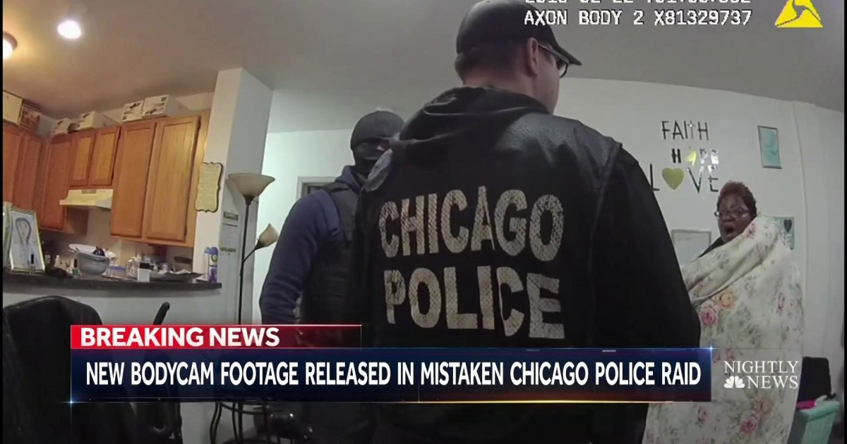 Innocent Chicago Woman Handcuffed Naked Caught on Body Cam