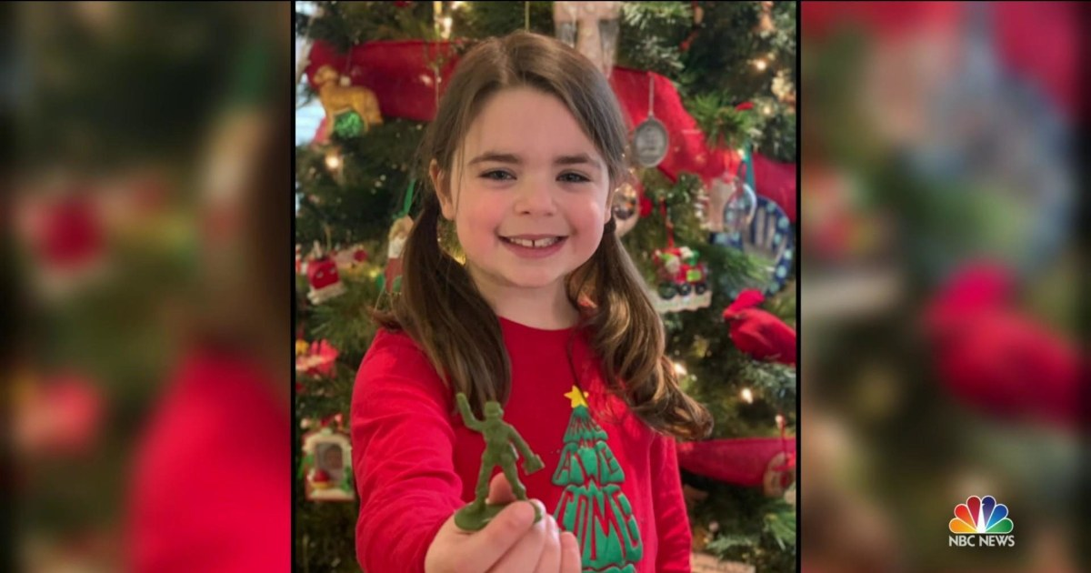 Young girl's empowering Christmas wish comes true