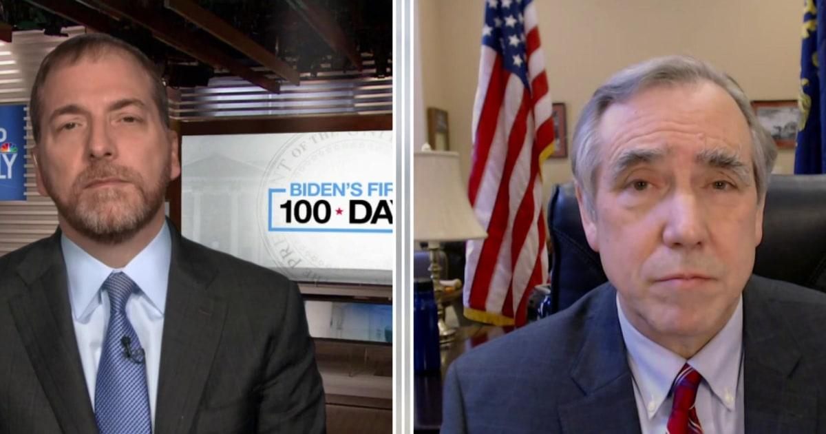 GOP will oppose Biden relief bill based on 'price tag,' Merkley says