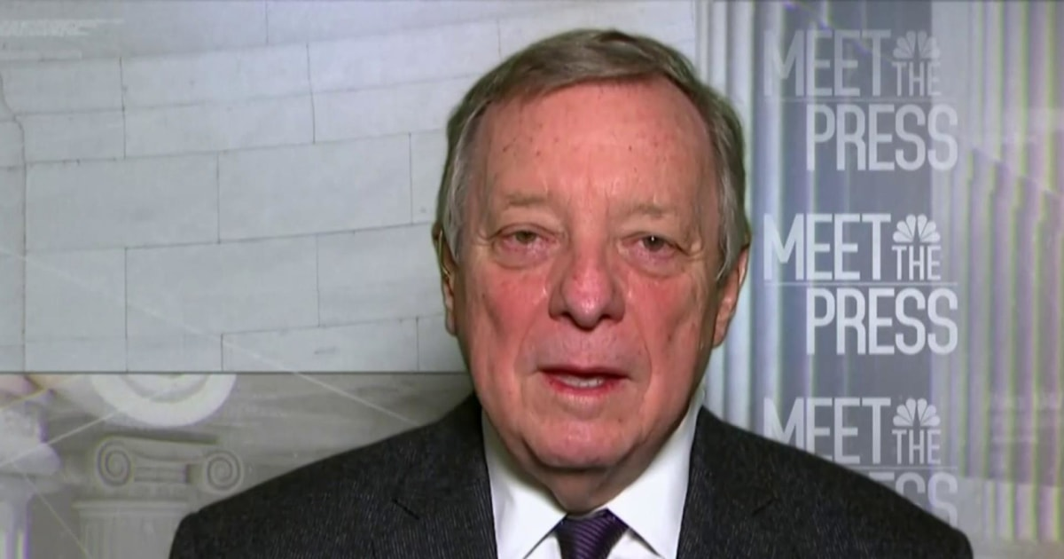 Durbin: 'Shame on us' if filibuster is allowed to block all Senate action