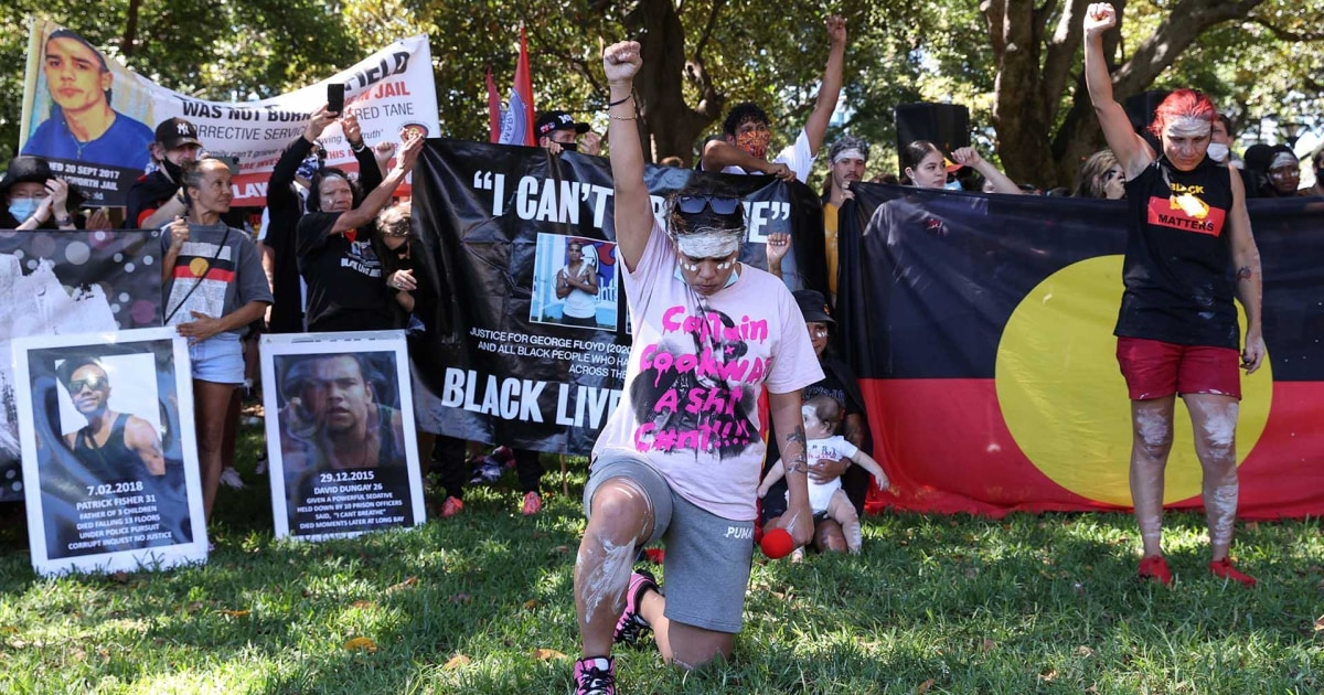 Australia Day protests highlight injustices against Indigenous peoples thumbnail