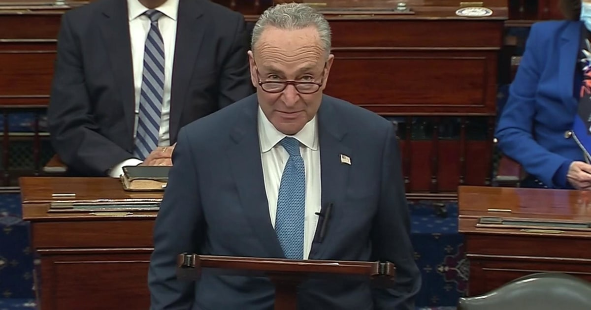 Schumer gives first speech as Senate majority leader: 'I am full of hope' thumbnail