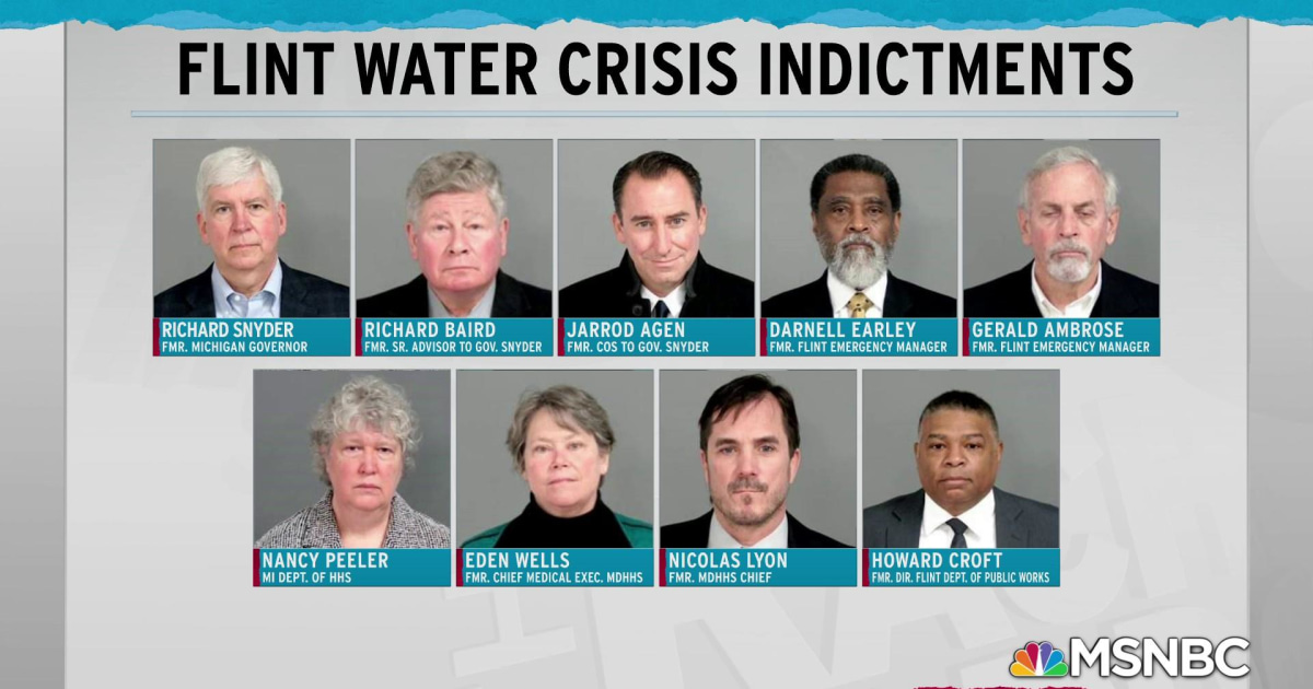 Years later, Michigan officials are made to answer for Flint water crisis