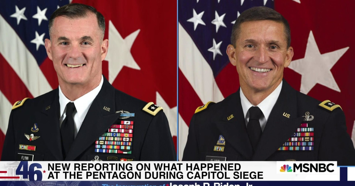 WaPo: Meeting on military response to Trump riot included Mike Flynn's brother
