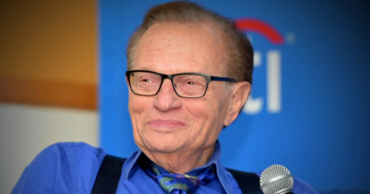 Remembering legendary television host Larry King