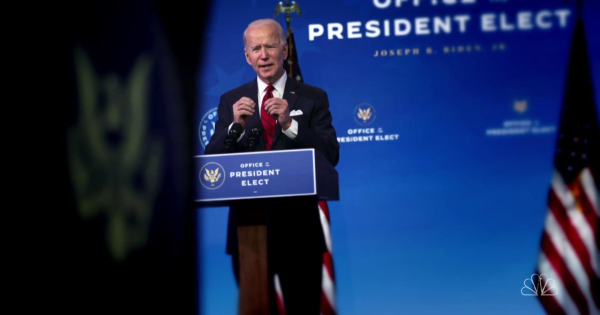 A look at Biden's first 10 days in office