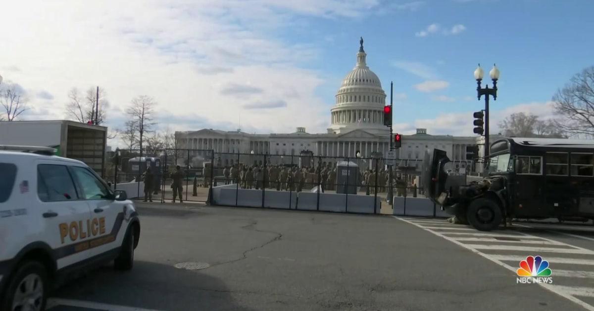 Washington, D.C. on high alert ahead of Inauguration Day