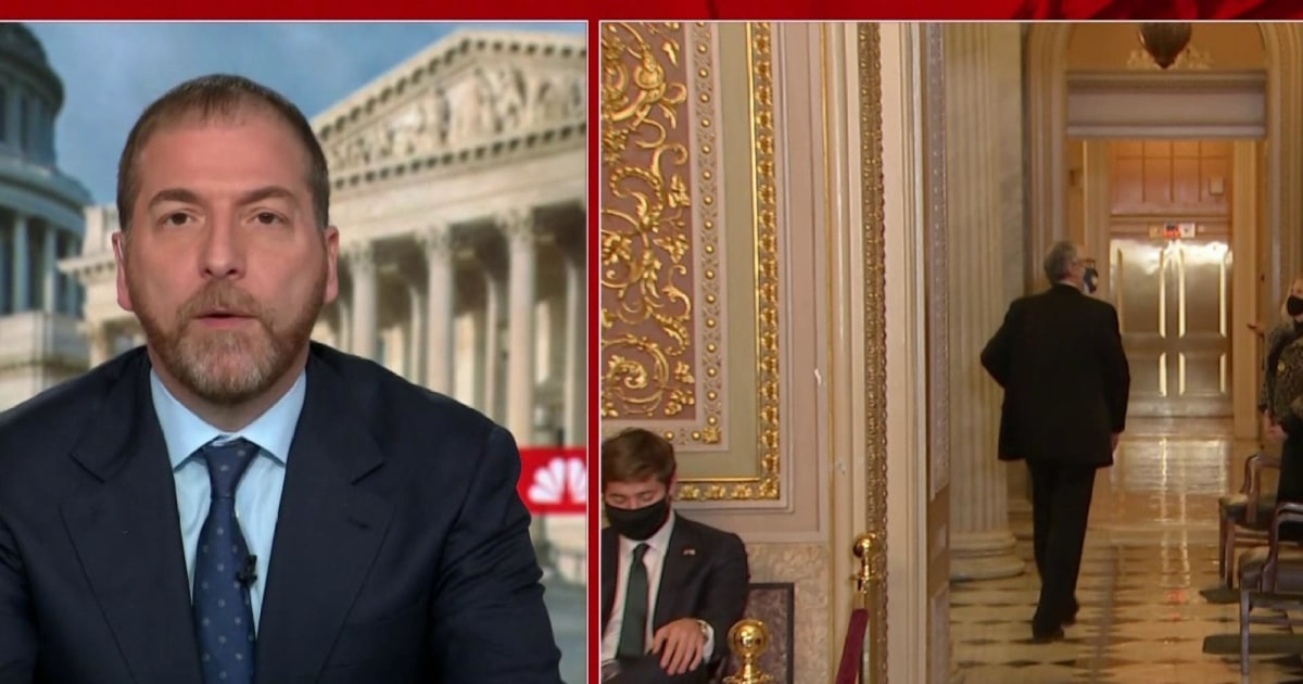Chuck Todd: Senate impeachment trial is'a defining moment' for the GOP thumbnail