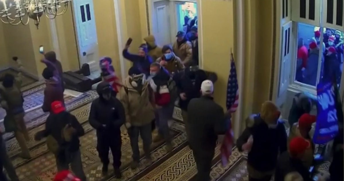 Full video: Impeachment managers show new graphic security footage of Capitol riot