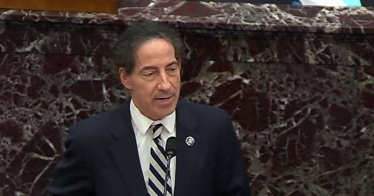Raskin compares Trump's comments on protests in Michigan to the Capitol riot