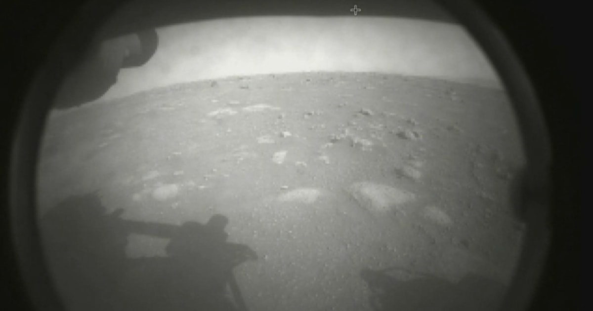 Watch moment NASA Mars rover Perseverance touches down