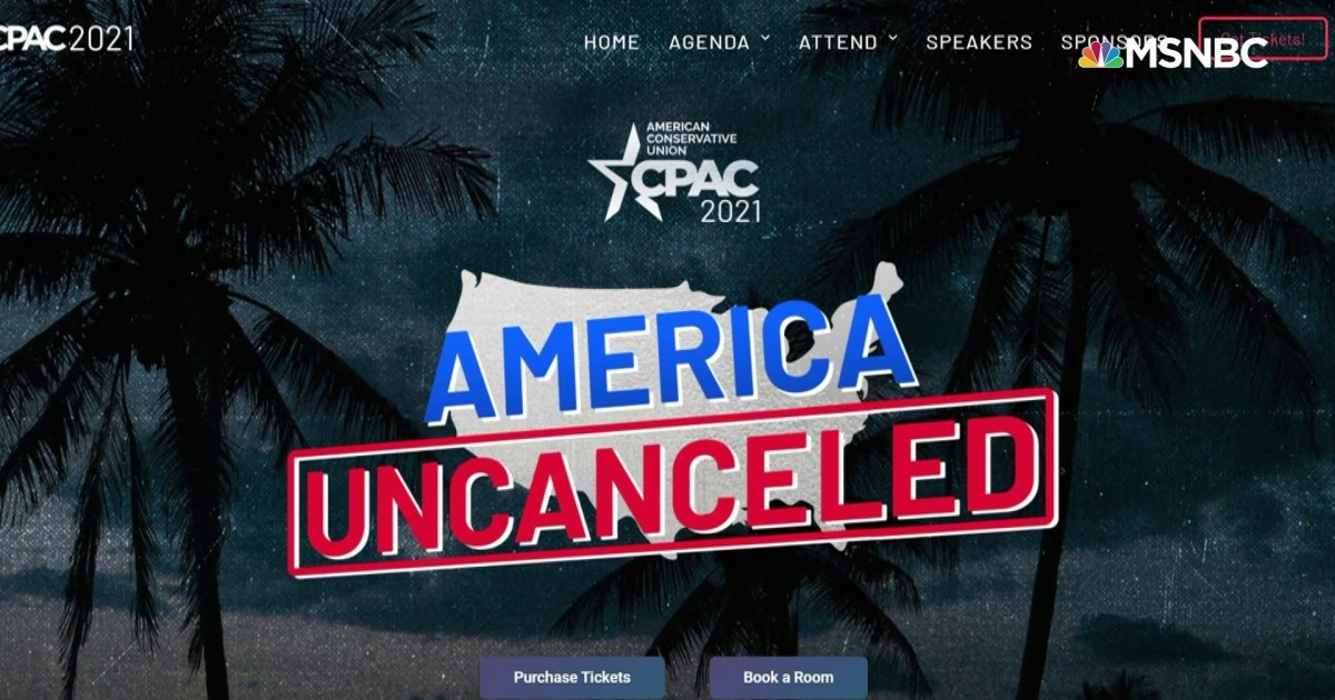 Conservative 'America, Uncanceled' event cancels speaker