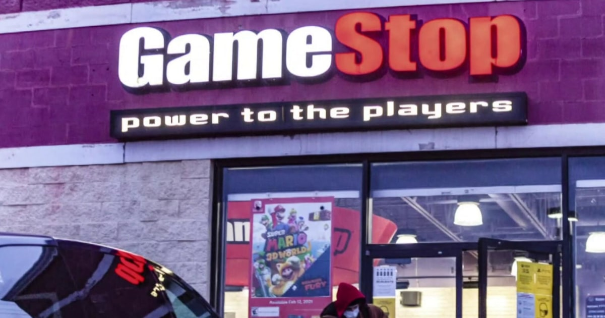 GameStop shares surge more than 100 percent amid executive shakeup thumbnail