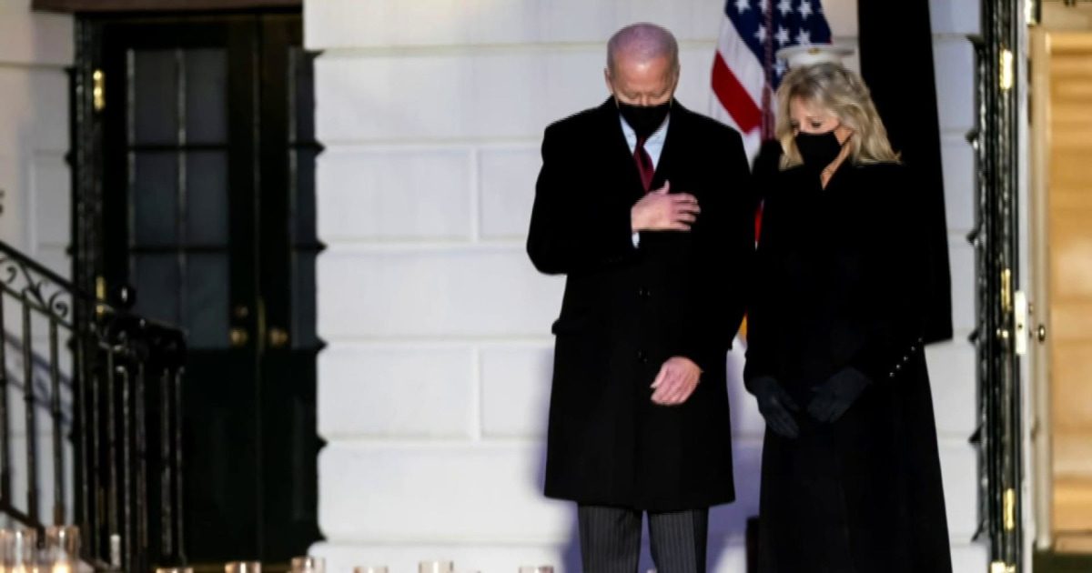 Facing Covid-19 crisis, Biden brings empathy back to the White House