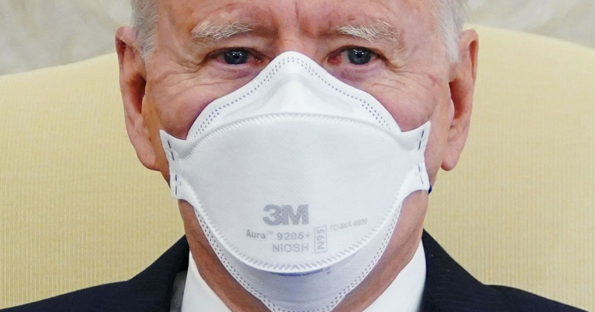 Biden administration announces plan to distribute 25 million free masks to health centers