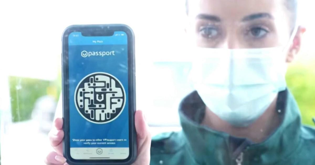 U.K. company rolling out digital 'vaccine passports' as Covid immunization spreads thumbnail