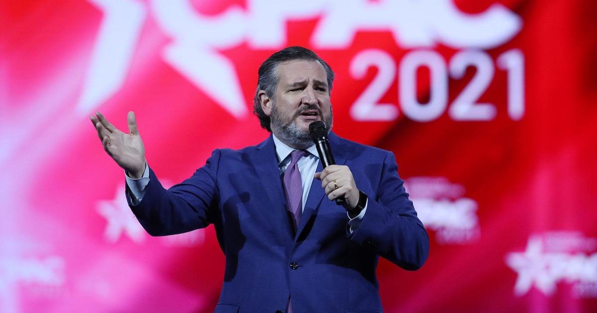 'This is just dumb': Sen. Cruz mocks Covid regulations in CPAC thumbnail
