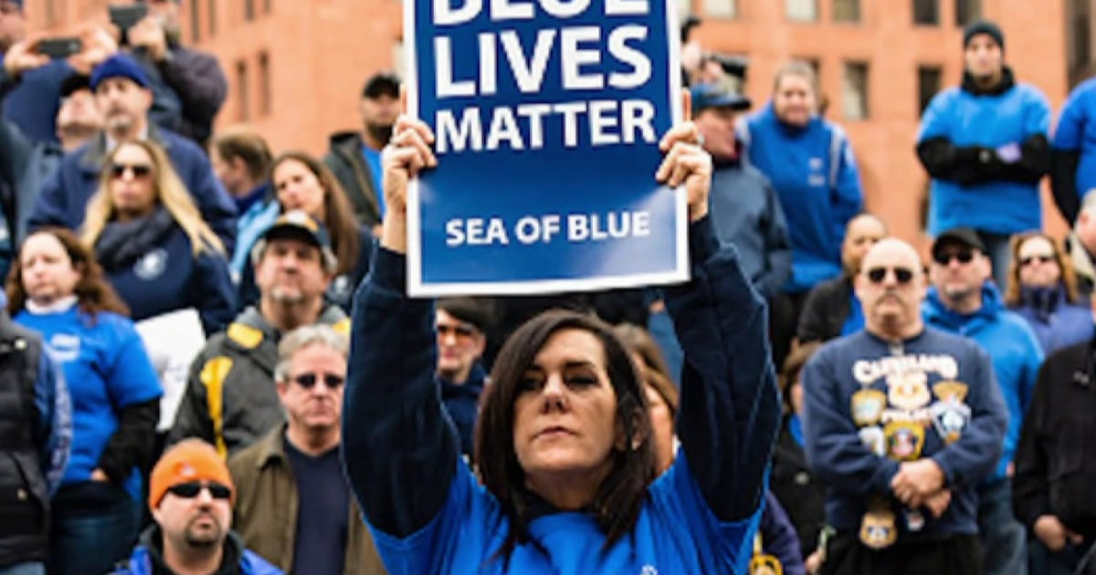 Police find many MAGA fans don't think 'Blue Lives Matter'