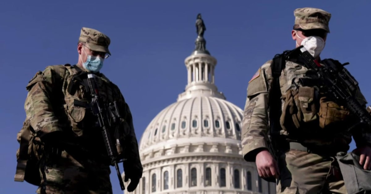 Pete Williams on potential second Capitol attack: 'Nobody's going to breach the Capitol'