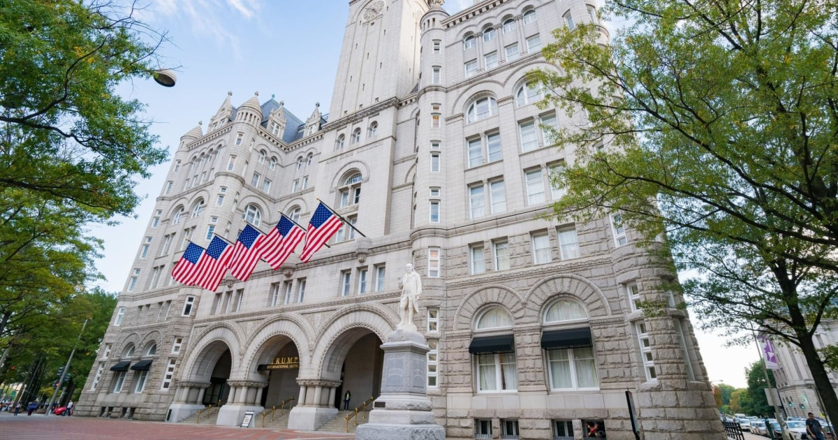 Trump hotel gets another chance to cash in on deluded extremist Trump supporters