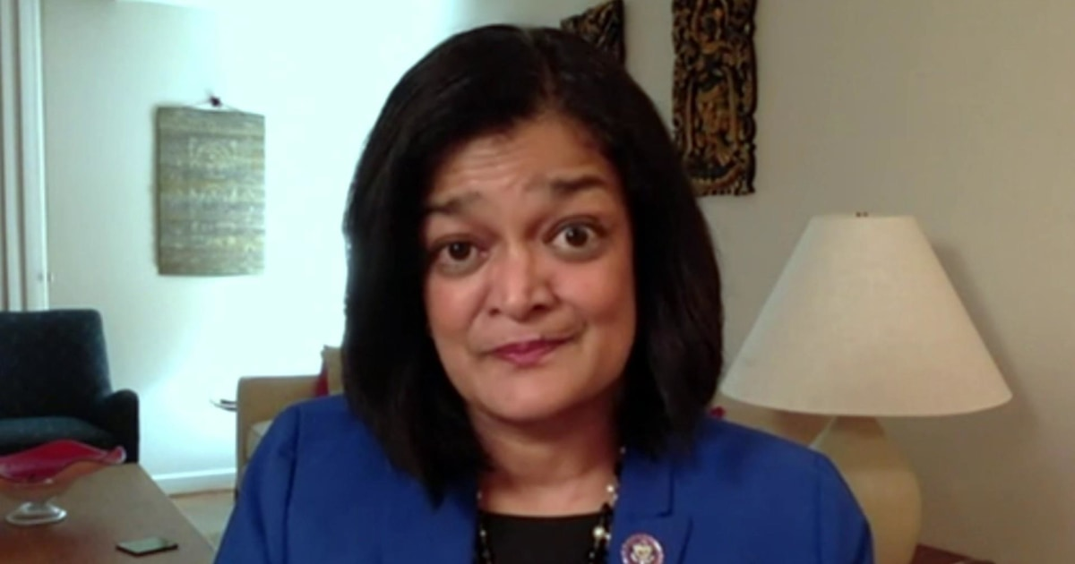 Rep. Jayapal: 'House will pass' Joe Biden's COVID relief package in final vote