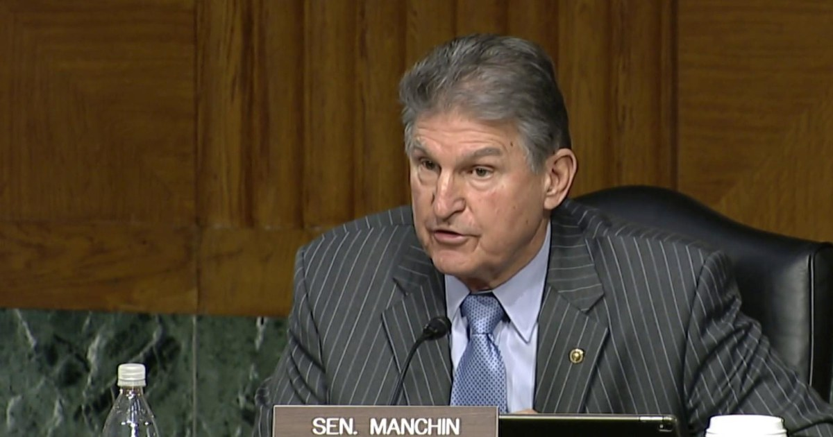 Manchin walks back comments on filibuster reform in latest op-ed