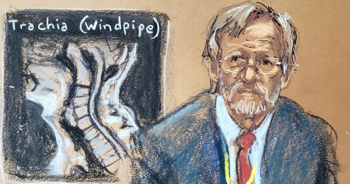 Lung expert's stunning testimony: Floyd died from low oxygen