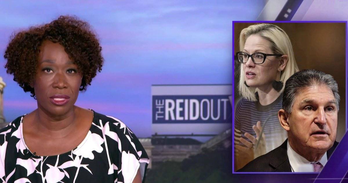 Joy Reid: Joe Manchin, Kyrsten Sinema chasing a 'mythical bipartisan beast' by defending filibuster