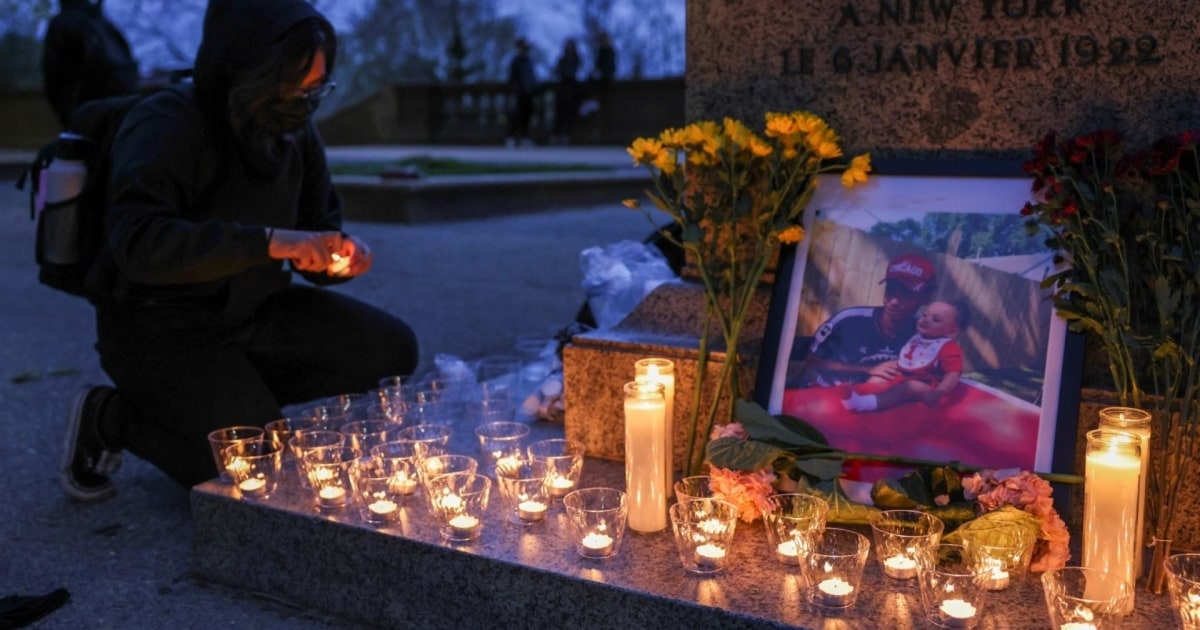 Second night of protests after police killing of Daunte Wright