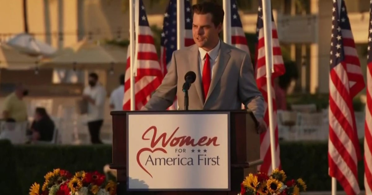 'Red flags': Gaetz goes full MAGA as early warning signs emerge amid sex probe