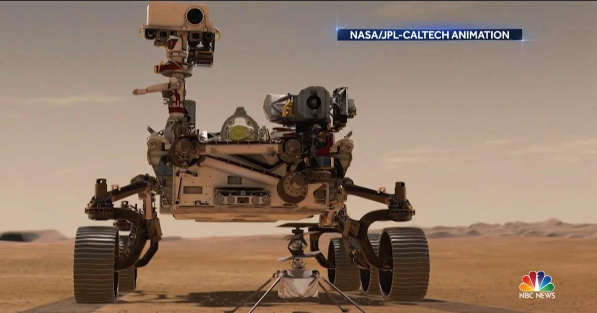 NASA makes history with flight on Mars