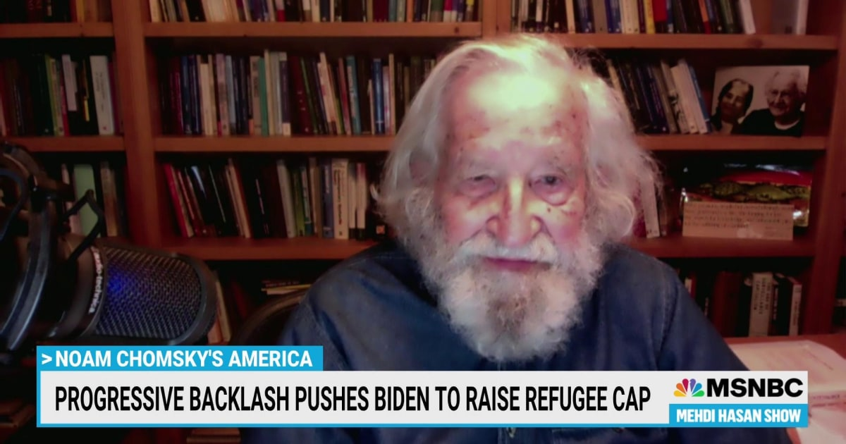 Legendary activist Noam Chomsky on Biden's presidency and the modern GOP