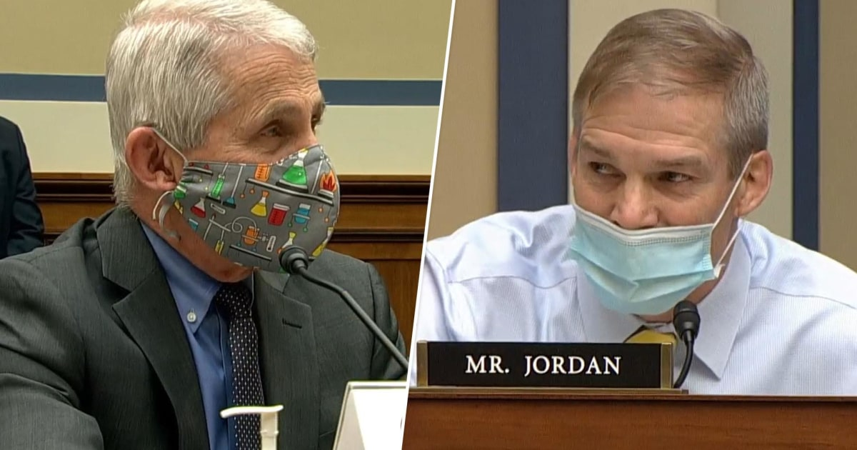 Rep. Jordan and Dr. Fauci clash over when Covid restrictions can be lifted