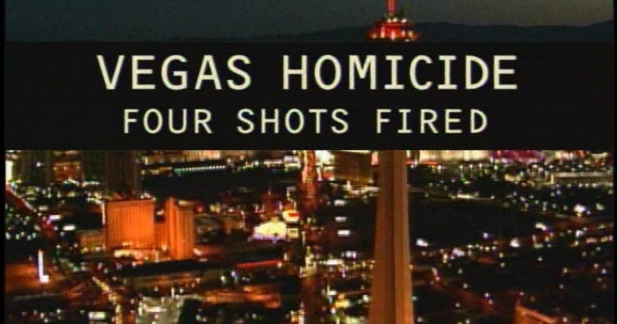 vegas homicide  four shots fired