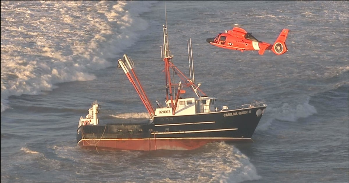 Coast Guard boat capsizes during rescue in New York ...