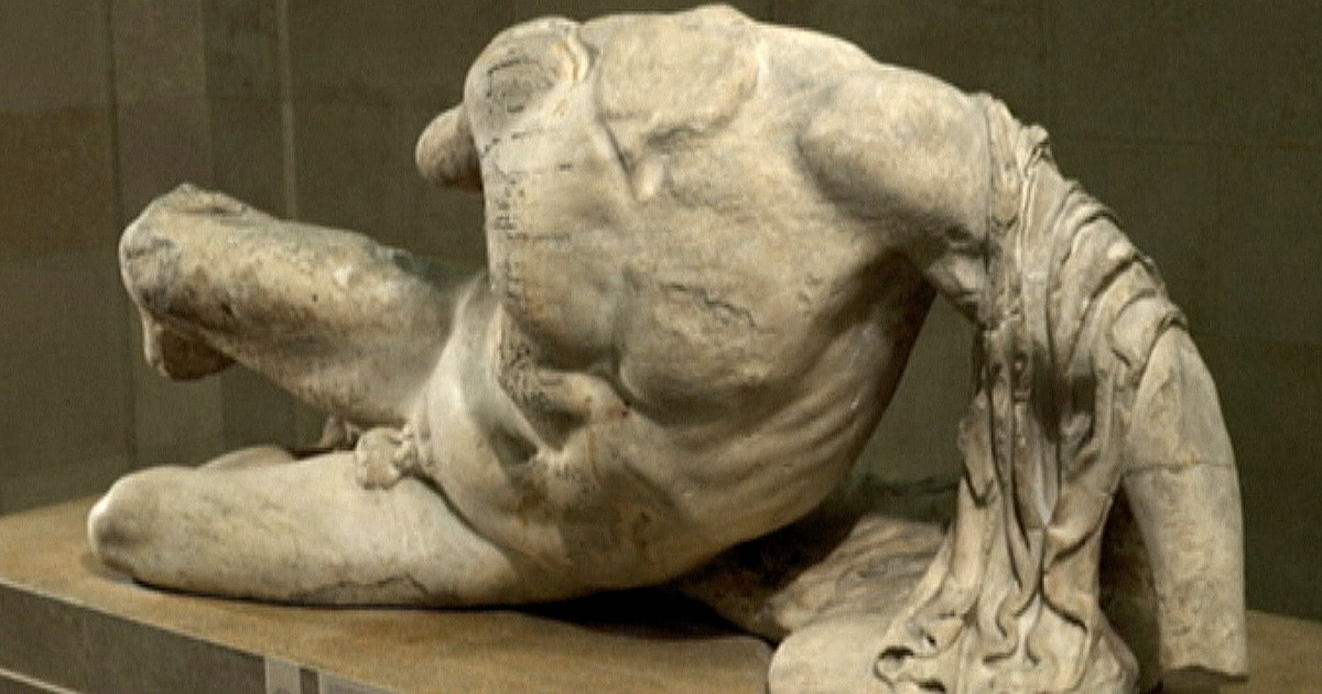 Elgin Marbles Statue Is Loaned To Russia In Controversial Move