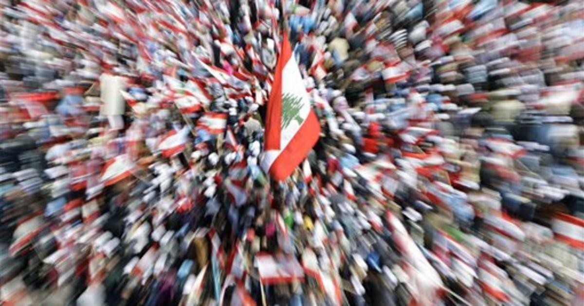 Thousands In Beirut Demand Hezbollah Disarm