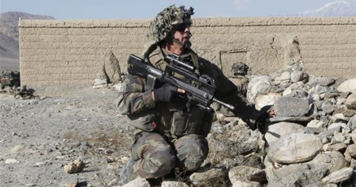French, Afghan troops move on hostile valley - SFGate