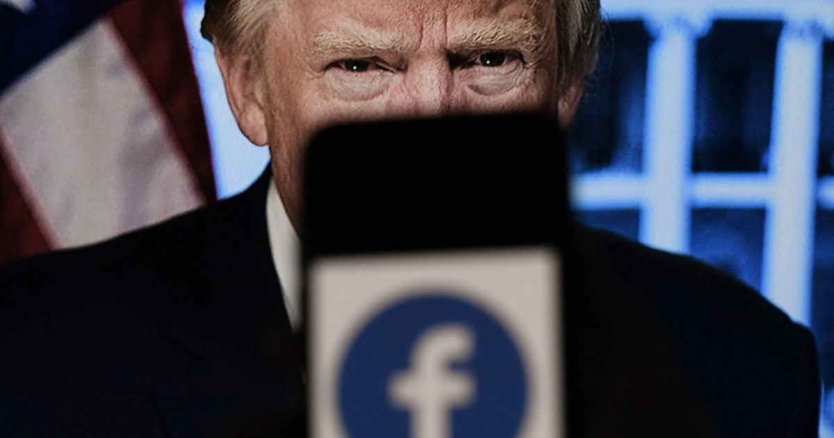 After Facebook affirms Trump ban, Trump reminds why it was necessary
