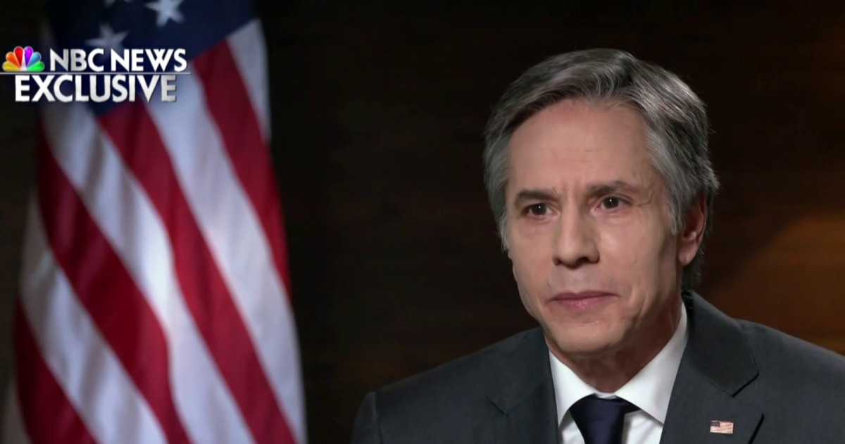 Blinken: 'We are not disengaging from Afghanistan'