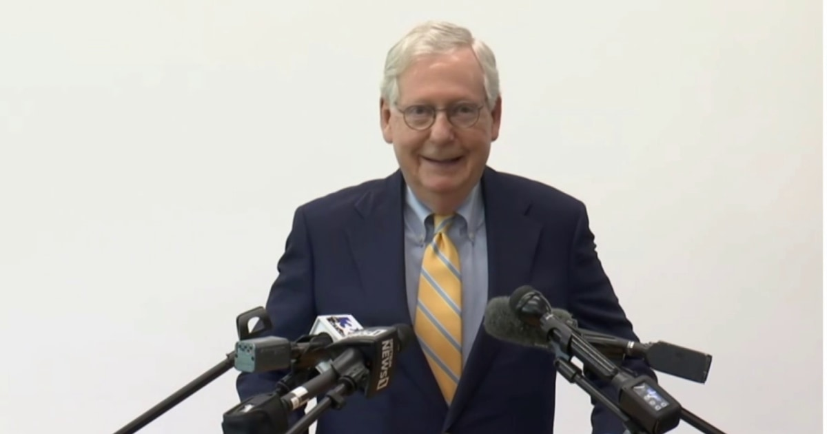 McConnell walks back language about 'stopping' Biden administration