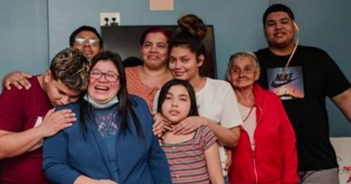 'I feel like I've been revived': A mother separated from her children at the border is reunited