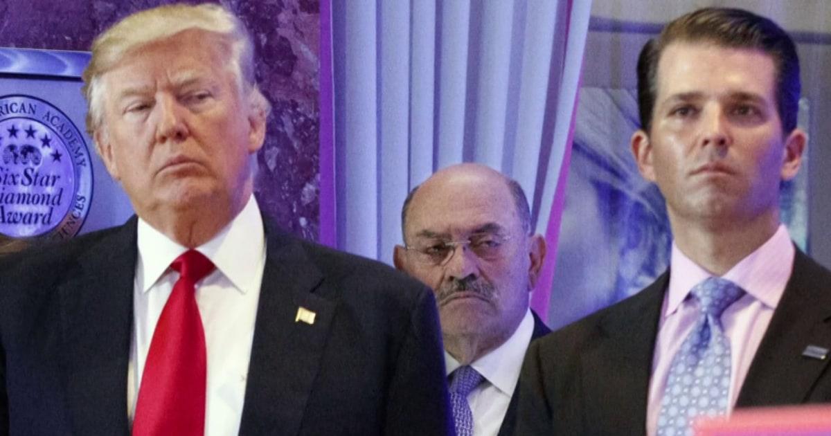 'Maximum pressure': NY prosecutors work to flip Trump money man
